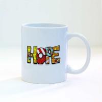 """Чаша със снимка за подвод или подарък """"Надежда"""""""