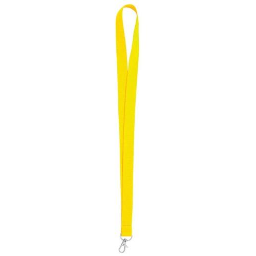 Връзка за бадж, лента за бадж, жълта