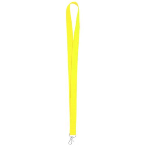 Връзка за бадж, лента за бадж, неоново жълтa