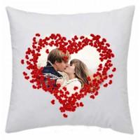 Възглавничка за подарък с пожелание или снимка, квадрат
